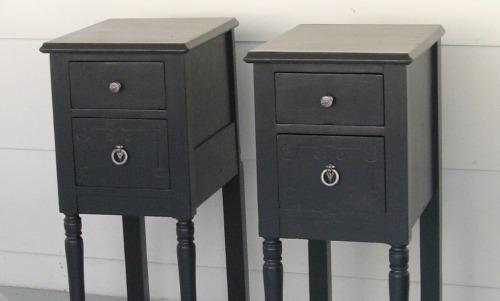 1 vanity + 1 good idea = 2 nightstands