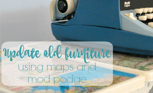 Updating old furniture using maps