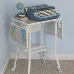 Off the map – a typewriter table