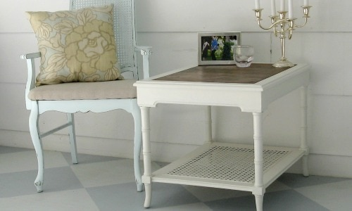 Trash to treasure: Replace a Glass Table Top