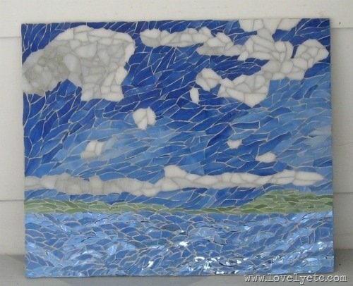 Mosaic Sky - Contemporary Impressionism | Landscape Oil Paintings ...