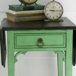 Pop of Green–side table