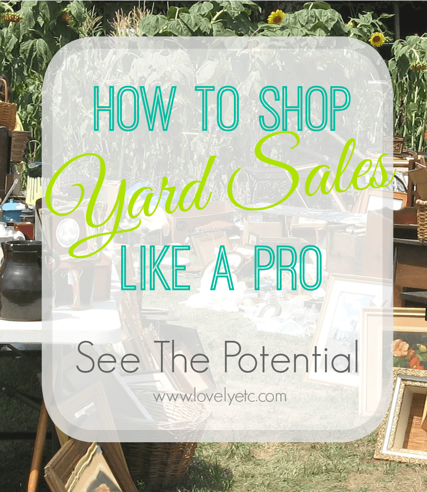Yard Sale like a Pro: Have a plan