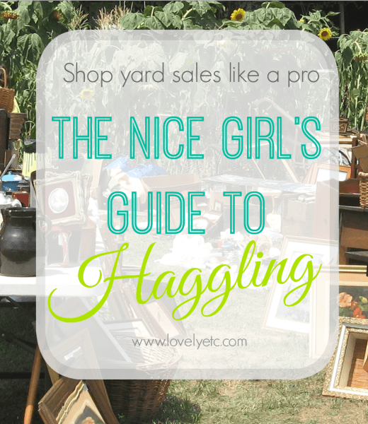 the nice girls' guide to haggling