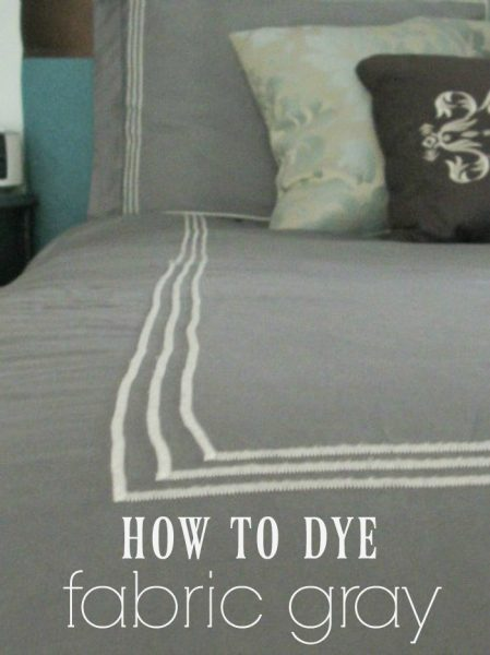 how to dye fabric gray - the best fabric dye to get a beautiful gray