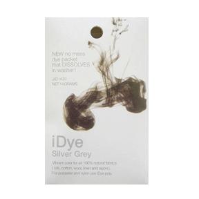 idye silver gray