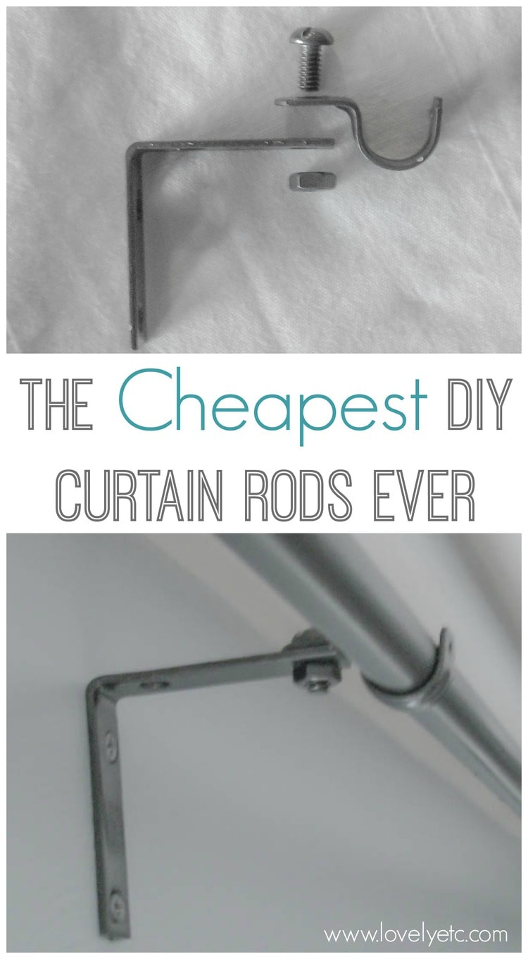 Superb Forget Buying Expensive Curtains Rods   These Cheap DIY Curtain Rods Are  Super Simple To Make
