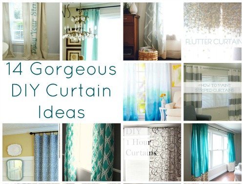 gorgeous DIY curtain ideas