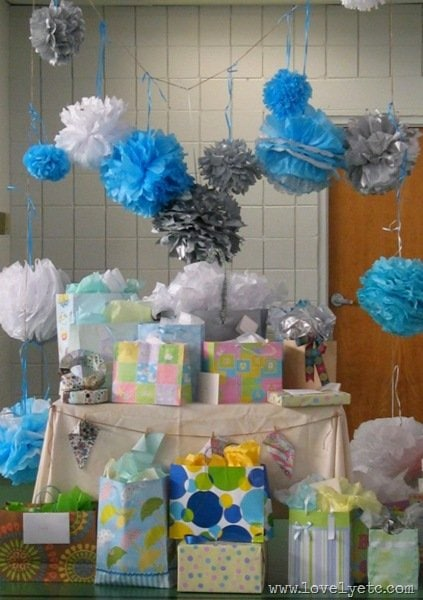 Real-life baby shower–beautiful, delicious, fun