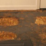 How to remove glued-down carpet