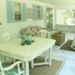 Painted Checkerboard Porch Floor: A how-to plus how it looks five years later