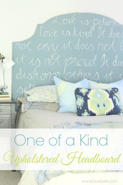 one of a kind headboard