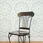 Wall-pattern-charlotte-stencil