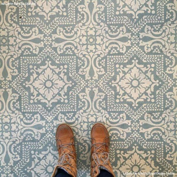 The Absolute Best Floor Stencils Plus Tips For A Perfectly
