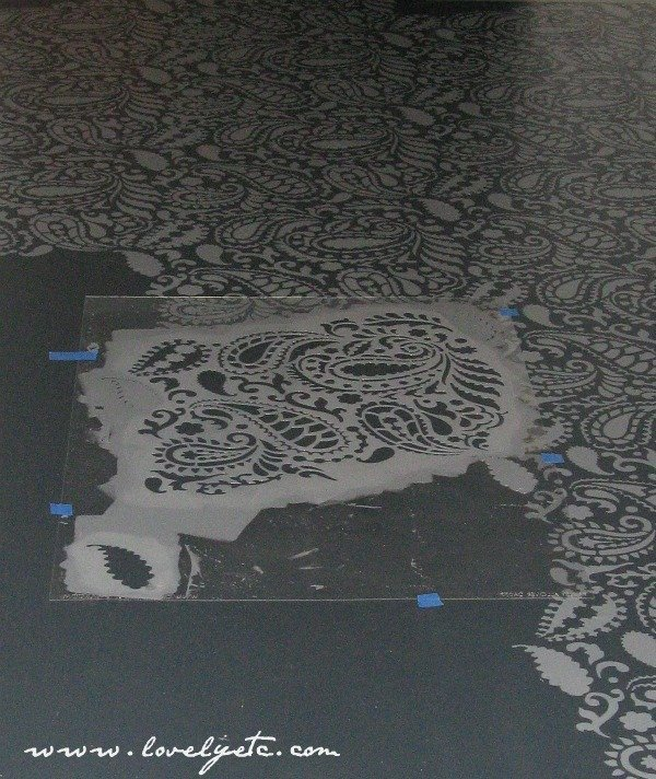 The Best Floor Stencils And Stenciled Floor Tips Lovely Etc