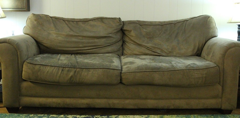 Save your couch: How to clean a microfiber couch - Lovely Etc.