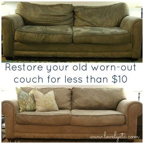 Leather Sofa Restuffing: Save Your Couch: How To Clean A Microfiber Couch