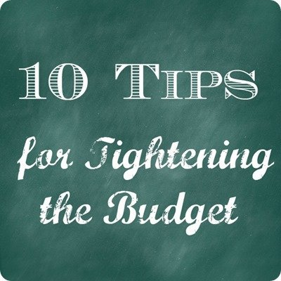 10 budget tips
