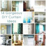 14 Gorgeous DIY Curtain Ideas