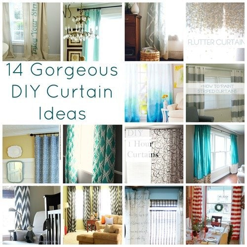 14 gorgeous diy curtain ideas lovely etc