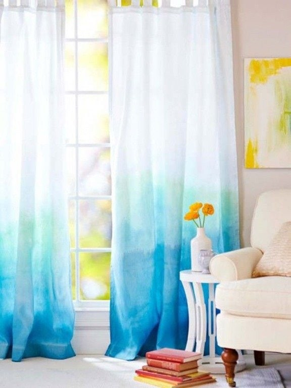 How To Make Ombre Curtains Nails Ombre