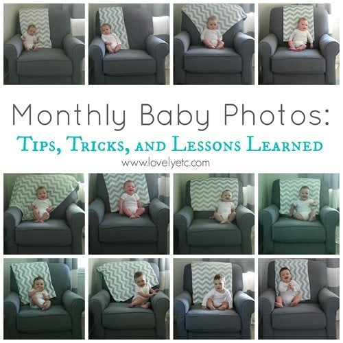 Monthly Baby Photos: Tips, Tricks, and Lessons Learned