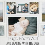 A Big Photo Wall and Dealing with the Ugly