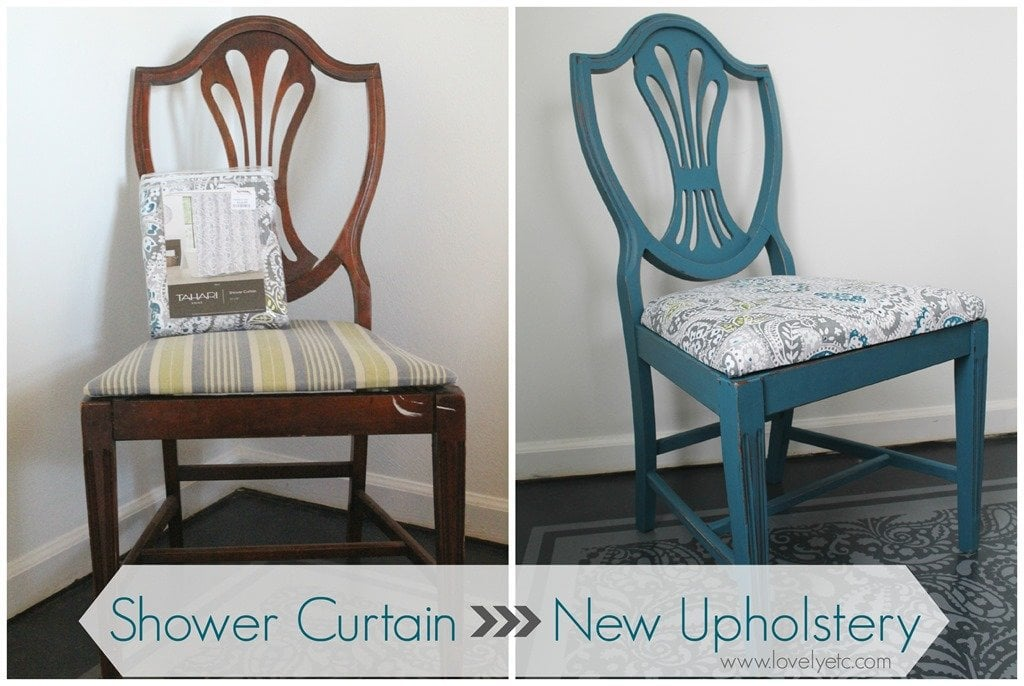 Gorgeous dining chair transformation Lovely Etc – Dining Chair Fabric Upholstery