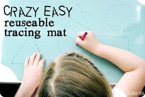 tracing mat