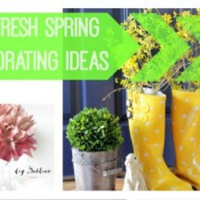 11 Fresh spring decorating ideas