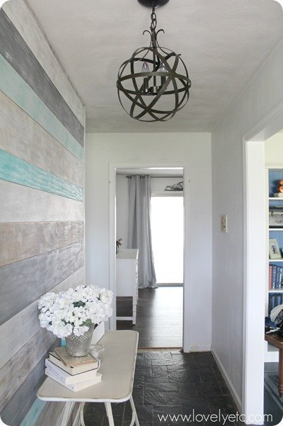 DIY foyer