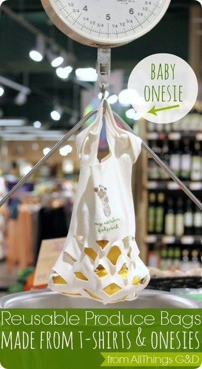 baby onesie produce bag