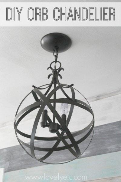 diy orb chandelier 2