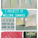 5 Simple DIY Projects to Welcome Summer