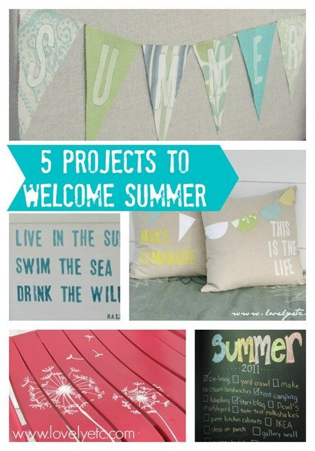 5 DIY projects to welcome summer