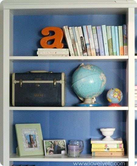 Taking the cardboard look away from Ikea bookcases