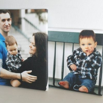 DIY Photo Canvas That Looks Exactly Like The Real Thing