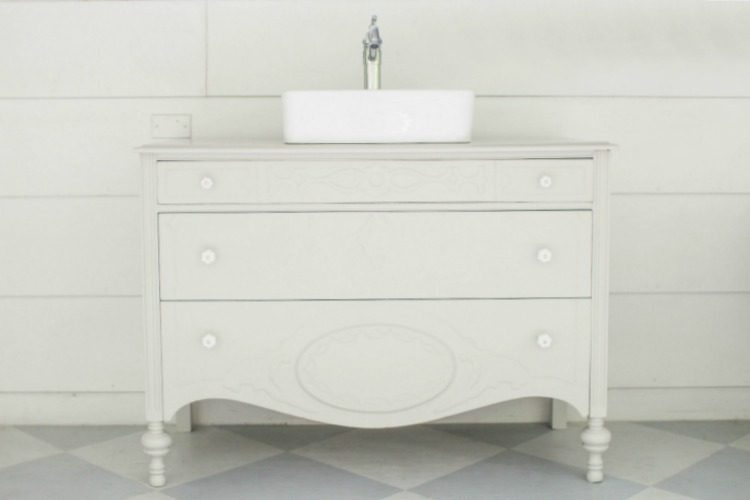 Vintage Dresser Bathroom Vanity