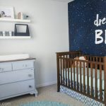 Vintage Modern Navy and Gray Nursery