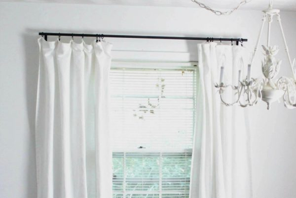 the cheapest curtain rods ever