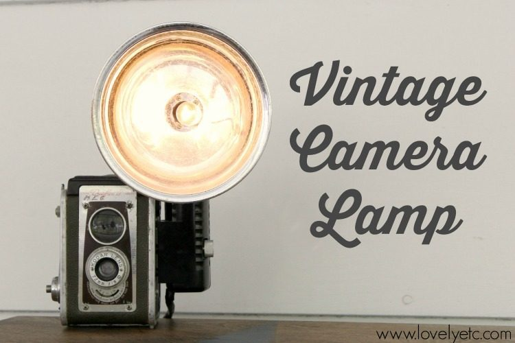 How to Turn a Vintage Camera into a Lamp