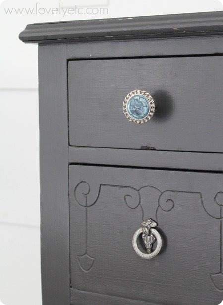 vintage jewelry turned hardware