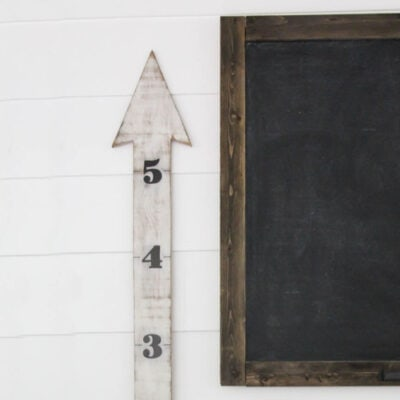 How to Make a DIY Wooden Arrow Growth Chart