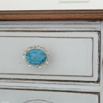 How to turn old jewelry into amazing drawer pulls