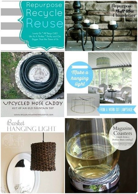 5 upcycled diy projects