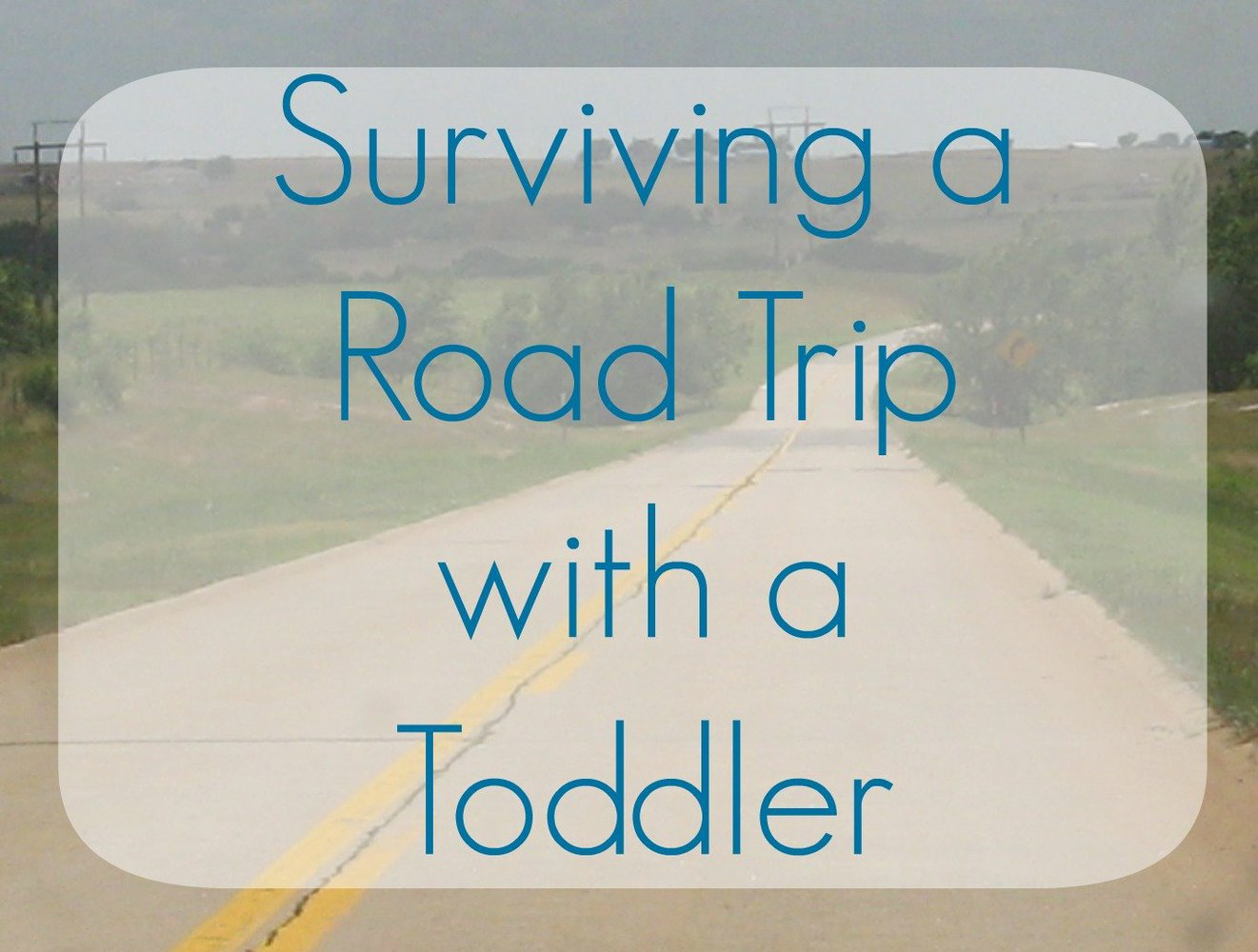 Road Trip with a Toddler: A Survival Guide