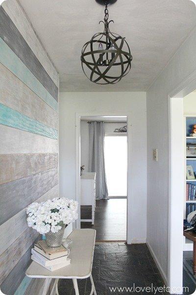 DIY foyer