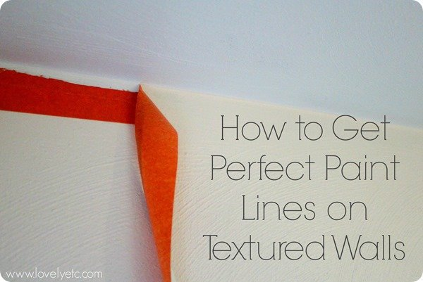 Perfectly painting a textured ceiling lovely etc for Perfect paint