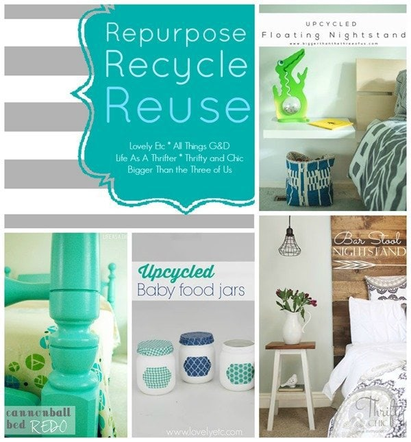 repurposed august collage