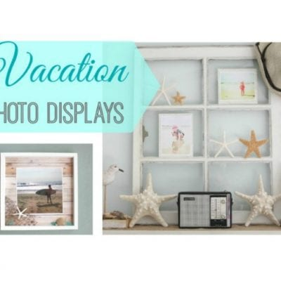 7 Beautiful and Creative Ways to Display Vacation Photos